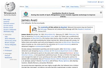 http://en.wikipedia.org/wiki/James_Avati