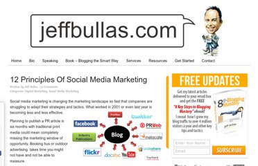 http://www.jeffbullas.com/2010/11/17/12-principles-of-social-media-marketing/