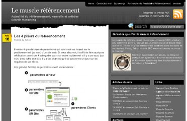 http://lemusclereferencement.com/2010/11/16/les-4-piliers-du-referencement/