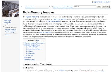 http://www.forensicswiki.org/wiki/Tools:Memory_Imaging#Windows_Software