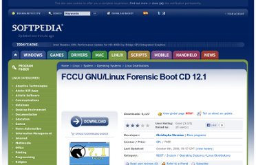 http://linux.softpedia.com/get/System/Operating-Systems/Linux-Distributions/FCCU-GNU-Linux-Forensic-Boot-CD-3113.shtml