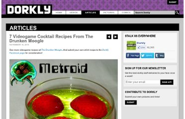 http://www.dorkly.com/article/6079/7-videogame-drink-recipes-from-the-drunken-moogle