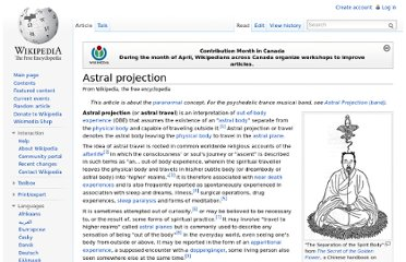 http://en.wikipedia.org/wiki/Astral_projection