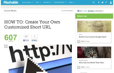http://mashable.com/2010/11/17/custom-short-url/