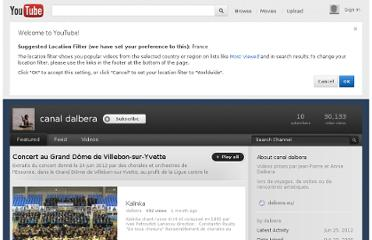 http://www.youtube.com/profile?user=dalbera