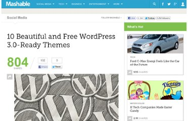 http://mashable.com/2010/08/04/wordpress-3-0-themes/#22769-Magazine-Basic