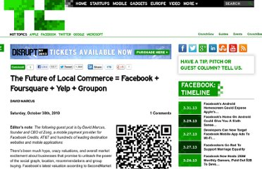 http://techcrunch.com/2010/10/30/the-future-of-local-commerce-facebook-foursquare-yelp-groupon/