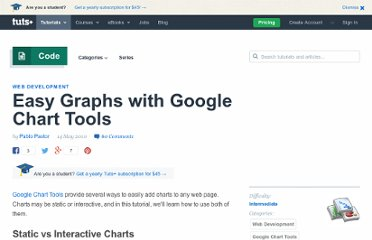 http://net.tutsplus.com/tutorials/other/easy-graphs-with-google-chart-tools/