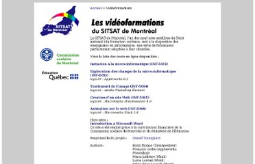 http://www2.csdm.qc.ca/sitsat-mtl/formation/index.html