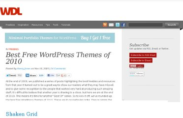 http://webdesignledger.com/freebies/best-free-wordpress-themes-of-2010