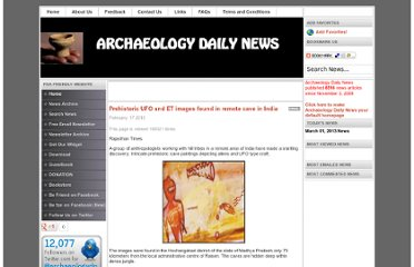 http://www.archaeologydaily.com/news/201002173333/Prehistoric-UFO-and-ET-images-found-in-remote-cave-in-India.html
