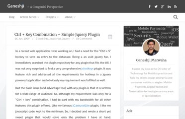 http://www.gmarwaha.com/blog/2009/06/16/ctrl-key-combination-simple-jquery-plugin/