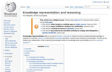http://en.wikipedia.org/wiki/Knowledge_representation_and_reasoning