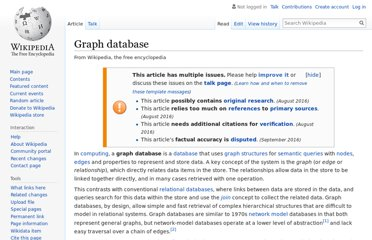 http://en.wikipedia.org/wiki/Graph_database
