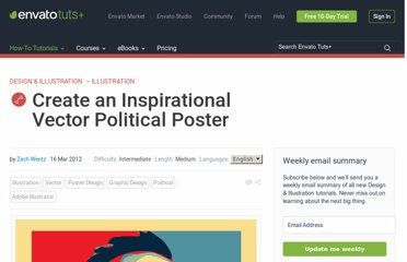 http://vector.tutsplus.com/tutorials/illustration/create-an-inspirational-vector-political-poster/