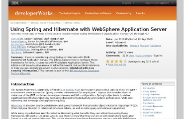 http://www.ibm.com/developerworks/websphere/techjournal/0609_alcott/0609_alcott.html
