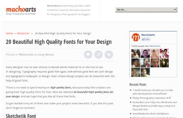 http://machoarts.com/20-beautiful-high-quality-fonts-for-your-design