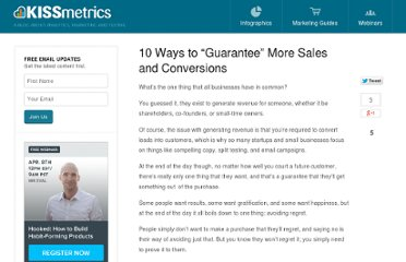 http://blog.kissmetrics.com/10-guarantees/