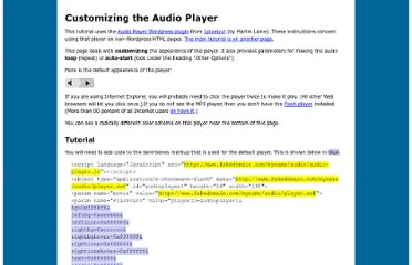 http://www.macloo.com/examples/audio_player/options.html
