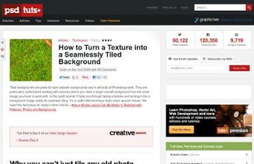 http://psd.tutsplus.com/articles/how-a-turn-a-texture-into-a-seamlessly-tiled-background/