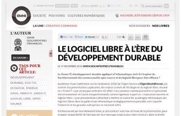 http://owni.fr/2010/11/19/le-logiciel-libre-a-lere-du-developpement-durable-green-it-open-source/