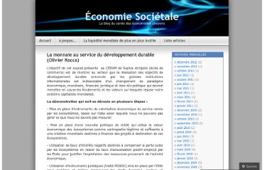 http://ecosocietal.wordpress.com/2010/06/22/la-monnaie-au-service-du-developpement-durable-olivier-rocca/