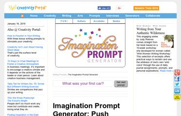 http://www.creativity-portal.com/prompts/imagination.prompt.html
