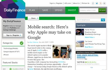 http://www.dailyfinance.com/story/media/mobile-search-heres-why-apple-may-take-on-google/19223815/
