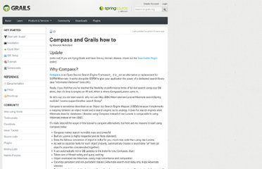 http://docs.codehaus.org/display/GRAILS/Compass+and+Grails+how+to