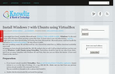 http://www.knowliz.com/2009/01/install-windows-7-with-ubuntu-using.html