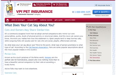 http://www.petinsurance.com/healthzone/pet-articles/pet-owner-topics/What-Does-Your-Cat-Say-About-You.aspx