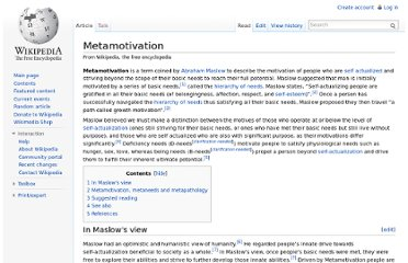 http://en.wikipedia.org/wiki/Metamotivation