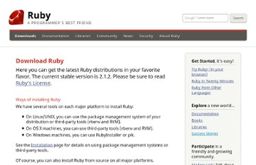 http://www.ruby-lang.org/en/downloads/