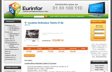 http://www.eurinfor.fr/Location-Ordinateur-Tactile-215p.html