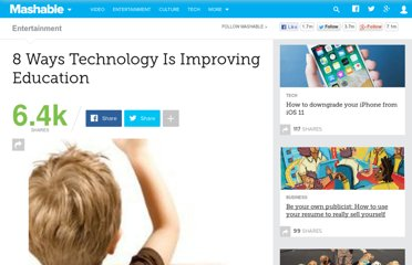 http://mashable.com/2010/11/22/technology-in-education/