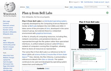 http://en.wikipedia.org/wiki/Plan_9_from_Bell_Labs