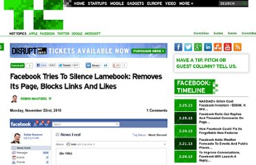 http://techcrunch.com/2010/11/22/facebook-blocks-lamebook/