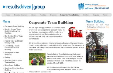 http://www.resultsdrivengroup.co.uk/TeamBuilding.aspx