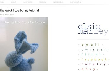 http://www.elsiemarley.com/the-quick-little-bunny-tutorial.html