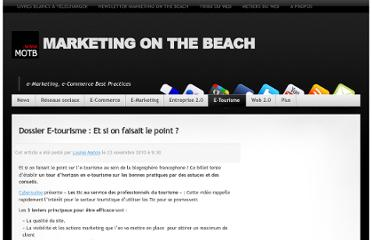 http://www.marketingonthebeach.com/dossier-e-tourisme-et-si-on-faisait-le-point/