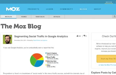 http://www.seomoz.org/blog/segmenting-social-traffic-in-google-analytics