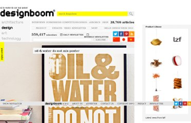 http://www.designboom.com/weblog/cat/8/view/11964/oil-water-do-not-mix-poster.html