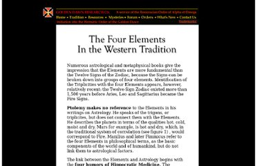 http://www.golden-dawn.org/four_elements.html