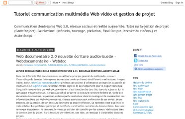 http://www.tutorials-computer-software.com/2009/10/web-documentaire-20-nouvelle-ecriture.html