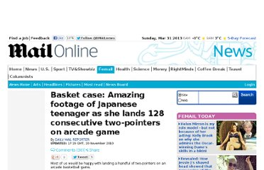 http://www.dailymail.co.uk/news/article-1331555/Footage-Japanese-teenager-scoring-128-consecutive-2-pointers-arcade-game.html
