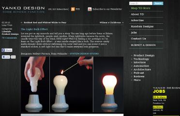http://www.yankodesign.com/2010/02/26/the-light-bulb-effect/
