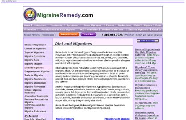 http://www.migraineremedy.com/herbal-remedies/migraineremedy/diet-and-migraines