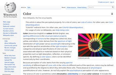 http://en.wikipedia.org/wiki/Color