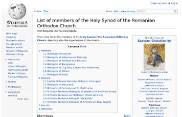 http://en.wikipedia.org/wiki/List_of_members_of_the_Holy_Synod_of_the_Romanian_Orthodox_Church