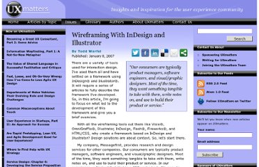 http://www.uxmatters.com/mt/archives/2007/01/wireframing-with-indesign-and-illustrator.php